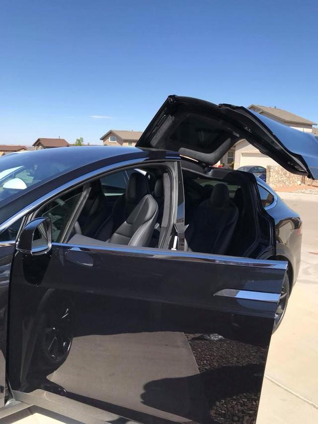Chồng siêu mẫu Ngọc Thạch tậu thêm xe điện tự lái Tesla Model X tại Việt Nam - Ảnh 5.