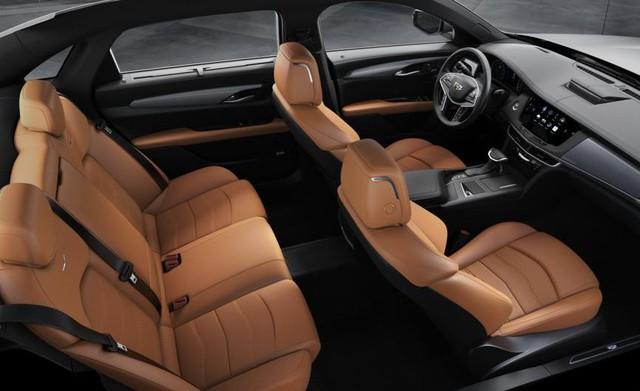 Cadillac CT6 Premium Luxury đổi màu phong cách dân chơi Dubai tại Hà Nội - Ảnh 15.