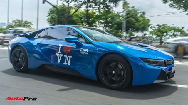 Cường Đô La, Tuấn Hưng cùng dàn siêu xe trăm tỷ khuấy động Sài Gòn cuối tuần - Ảnh 10.