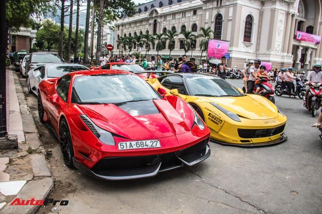 Cường Đô La, Tuấn Hưng cùng dàn siêu xe trăm tỷ khuấy động Sài Gòn cuối tuần - Ảnh 21.