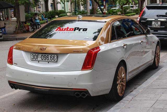 Cadillac CT6 Premium Luxury đổi màu phong cách dân chơi Dubai tại Hà Nội - Ảnh 16.