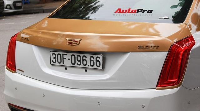 Cadillac CT6 Premium Luxury đổi màu phong cách dân chơi Dubai tại Hà Nội - Ảnh 9.