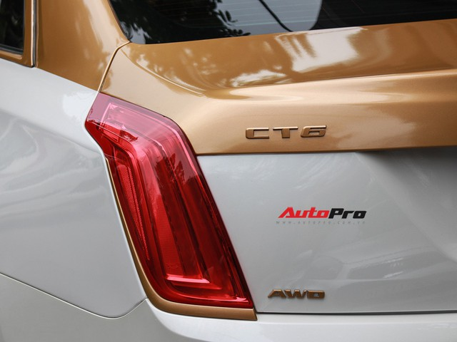 Cadillac CT6 Premium Luxury đổi màu phong cách dân chơi Dubai tại Hà Nội - Ảnh 10.