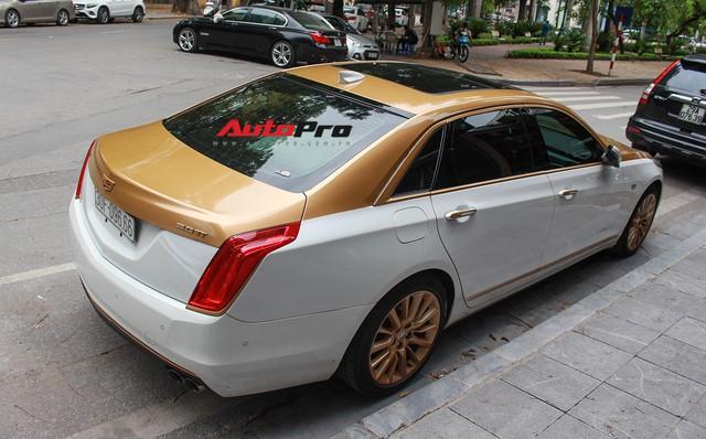 Cadillac CT6 Premium Luxury đổi màu phong cách dân chơi Dubai tại Hà Nội - Ảnh 11.