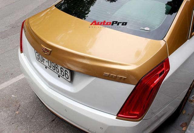 Cadillac CT6 Premium Luxury đổi màu phong cách dân chơi Dubai tại Hà Nội - Ảnh 8.
