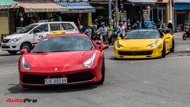 Cường Đô La, Tuấn Hưng cùng dàn siêu xe trăm tỷ khuấy động Sài Gòn cuối tuần - Ảnh 27.