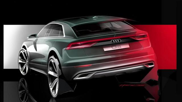Audi bất ngờ hé lộ Q8 2018 đầy góc cạnh