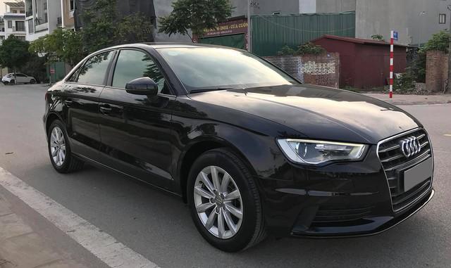 Audi A3 sedan mất một nửa giá trị sau hơn 3 năm sử dụng - Ảnh 1.