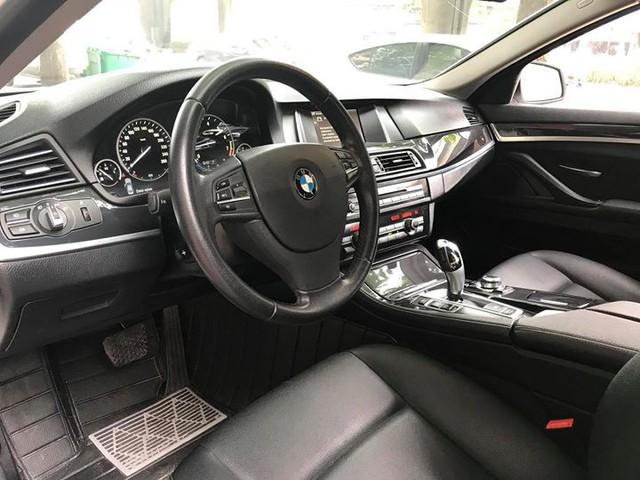 BMW 520i 2014 lăn bánh 40.000km bán lại giá 1,45 tỷ đồng tại Hà Nội - Ảnh 10.