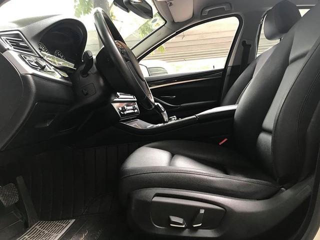 BMW 520i 2014 lăn bánh 40.000km bán lại giá 1,45 tỷ đồng tại Hà Nội - Ảnh 9.