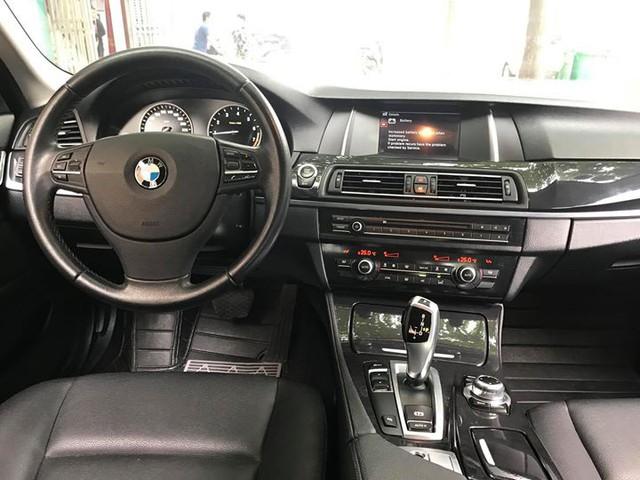BMW 520i 2014 lăn bánh 40.000km bán lại giá 1,45 tỷ đồng tại Hà Nội - Ảnh 8.