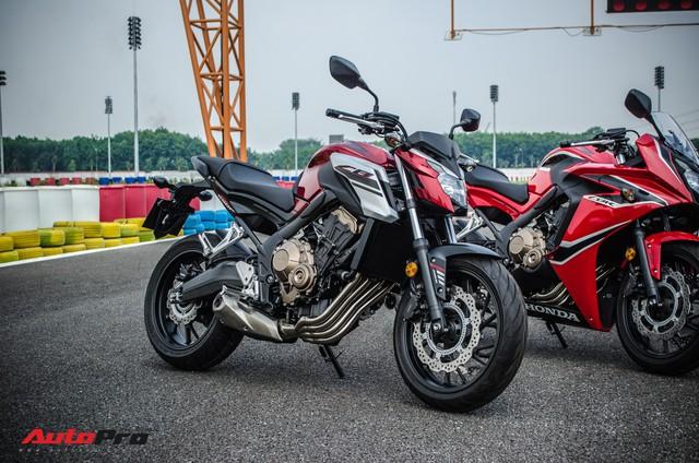Honda CB650F giá 226 triệu đồng có gì để thuyết phục biker Việt? - Ảnh 12.