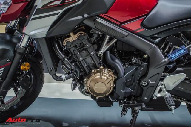 Honda CB650F giá 226 triệu đồng có gì để thuyết phục biker Việt? - Ảnh 8.