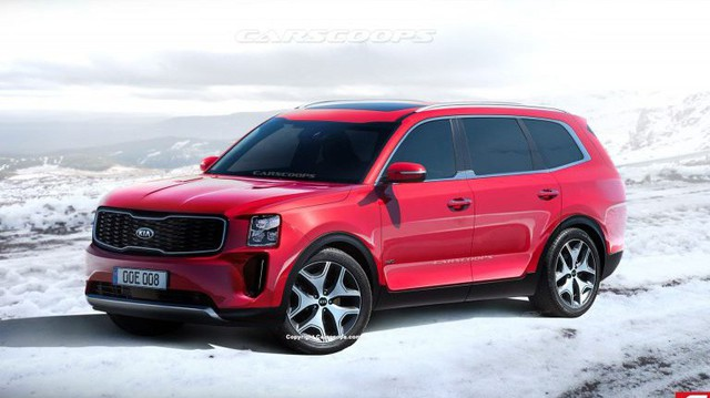Những điều cần biết về Kia Telluride - SUV 7 sắp ra mắt, cạnh tranh Ford Explorer