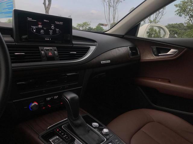 Audi A7 Sportback 2015 lăn bánh 15.300km bán lại giá ngang A5 Sportback mới - Ảnh 13.