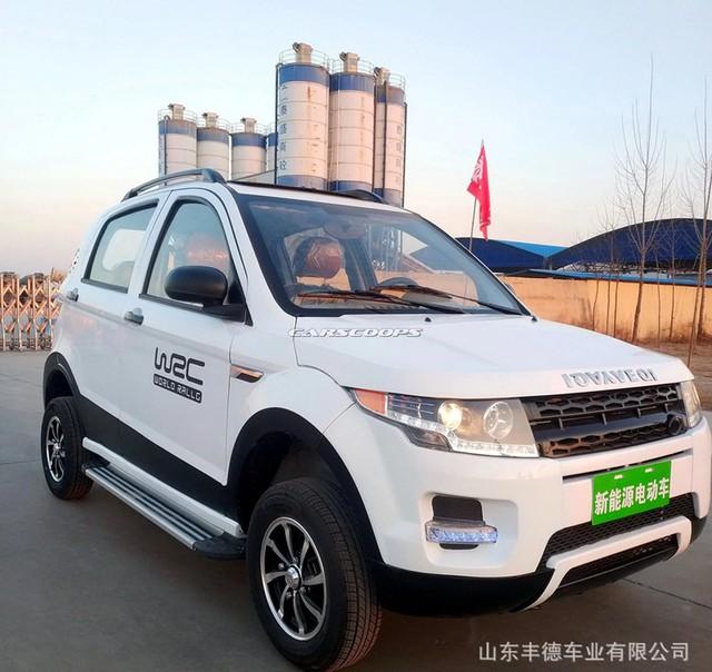 Tới lượt Mercedes-Benz GLE và Range Rover Evoque bị nhái siêu rẻ tại Trung Quốc - Ảnh 2.