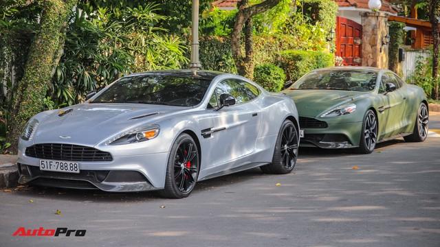 Ông chủ cafe Trung Nguyên phá cách với Aston Martin Vanquish hàng hiếm màu lạ - Ảnh 6.