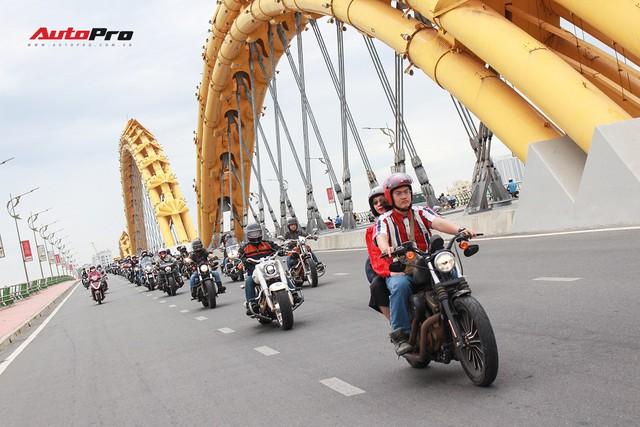Hơn 100 xe Harley-Davidson bắt đầu khuấy động Đà Nẵng - Ảnh 14.