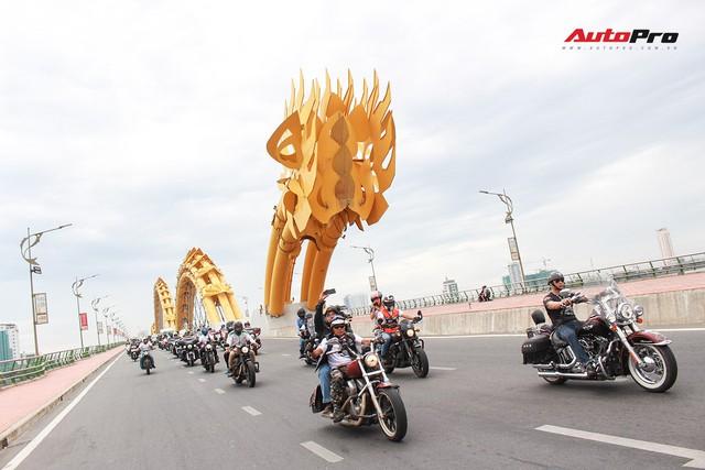 Hơn 100 xe Harley-Davidson bắt đầu khuấy động Đà Nẵng - Ảnh 15.