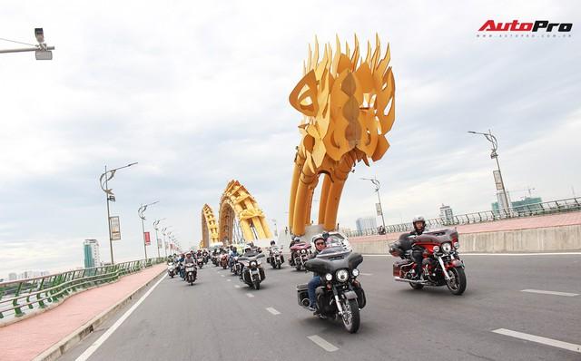 Hơn 100 xe Harley-Davidson bắt đầu khuấy động Đà Nẵng - Ảnh 16.