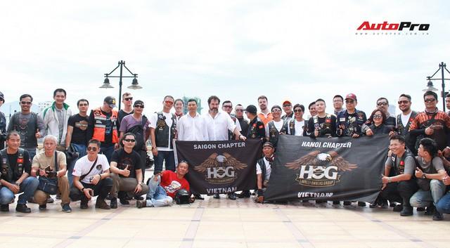 Hơn 100 xe Harley-Davidson bắt đầu khuấy động Đà Nẵng - Ảnh 4.