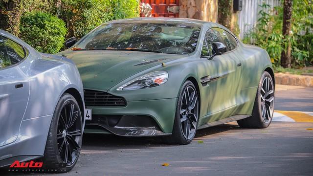 Ông chủ cafe Trung Nguyên phá cách với Aston Martin Vanquish hàng hiếm màu lạ