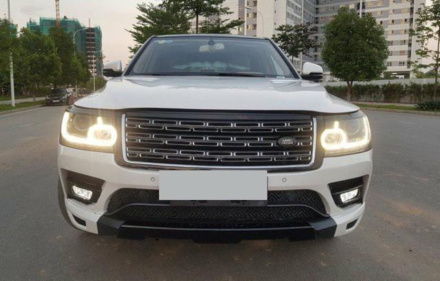 Dân chơi Việt chi trên trăm triệu đồng để độ đồ Land Rover xịn cho xe Trung Quốc Zotye Z8 - Ảnh 1.