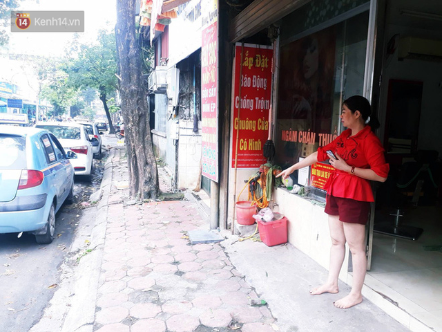 Hà Nội: Chủ tiệm tóc kể lại khoảnh khắc nghẹt thở khi cùng nhân viên và nữ chủ xe SH giằng co với tên cướp có dao - Ảnh 3.