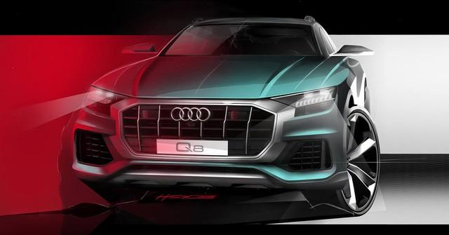 SUV chủ lực Audi Q8 chính thức lộ diện: Phá vỡ giới hạn thiết kế an toàn - Ảnh 1.