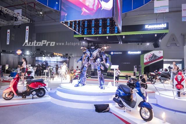 Thay Yamaha, Suzuki liệu có làm mới triển lãm mô tô, xe máy Việt Nam? - Ảnh 1.