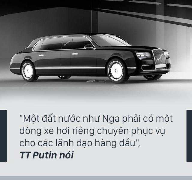 [PHOTO STORY] Siêu xe mới của Tổng thống Putin - Chiếc xe sẵn sàng cho một cuộc chiến - Ảnh 3.
