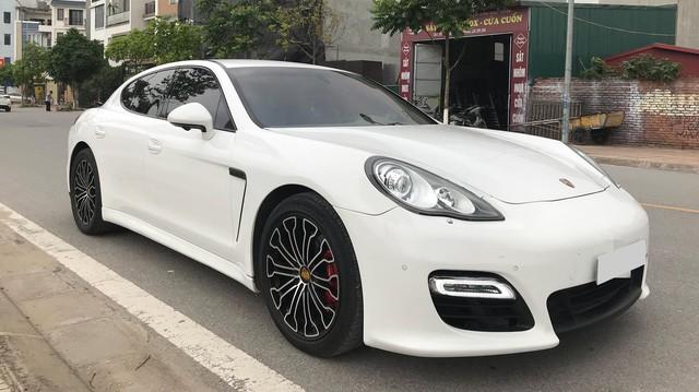 Porsche Panamera 2010 độ mâm siêu xe 918 Spyder rao bán lại giá 1,95 tỷ tại Hà Nội