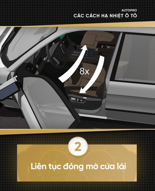 [Photo Story] Xe giá rẻ cần hạ nhiệt nhanh trong mùa hè - Thử 9 cách đơn giản sau - Ảnh 2.
