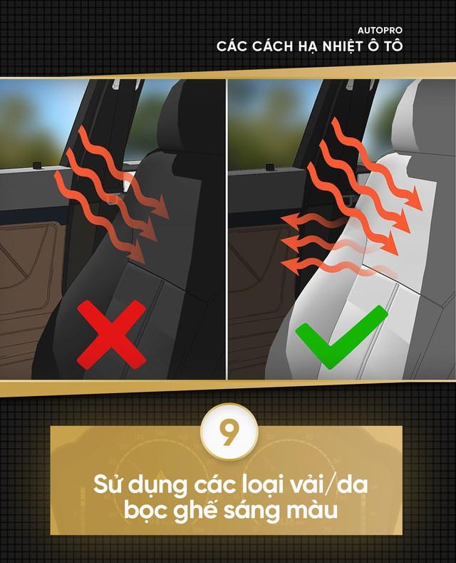 [Photo Story] Xe giá rẻ cần hạ nhiệt nhanh trong mùa hè - Thử 9 cách đơn giản sau - Ảnh 9.