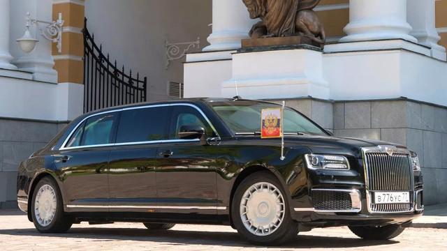 Chiếc limousine mới toanh của tổng thống Putin sắp có mặt trên thị trường - Ảnh 1.