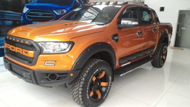 Chưa có hàng mới, Ford Ranger được độ lại kiểu Raptor để hút khách Việt với giá 1,1 tỷ đồng - Ảnh 7.
