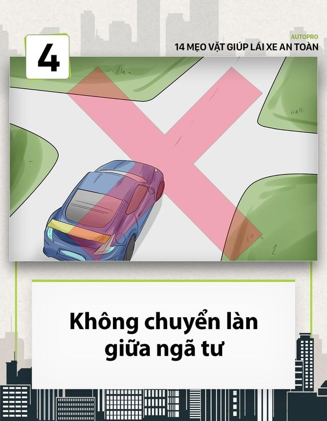 [Photo Story] 14 mẹo vặt giúp các tài non lái xe an toàn - Ảnh 4.