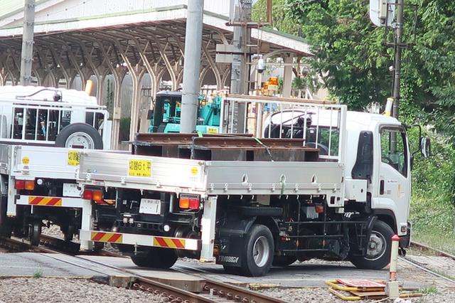 Kirikusha: Loại xe tải cực dị đến từ Nhật Bản, đi được trên cả đường bộ lẫn đường sắt - Ảnh 3.