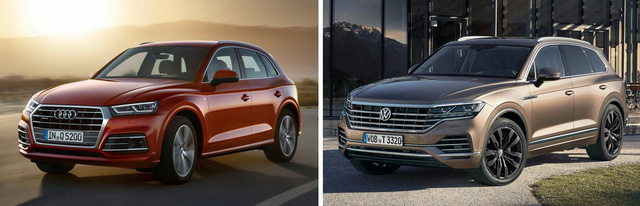Volkswagen, Audi, Porsche... đang ngày càng giống nhau - Quá đà trong vay mượn thiết kế? - Ảnh 2.