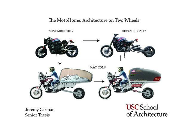 Sinh viên biến Honda CB thành nhà di động đi muôn nơi - Ảnh 3.