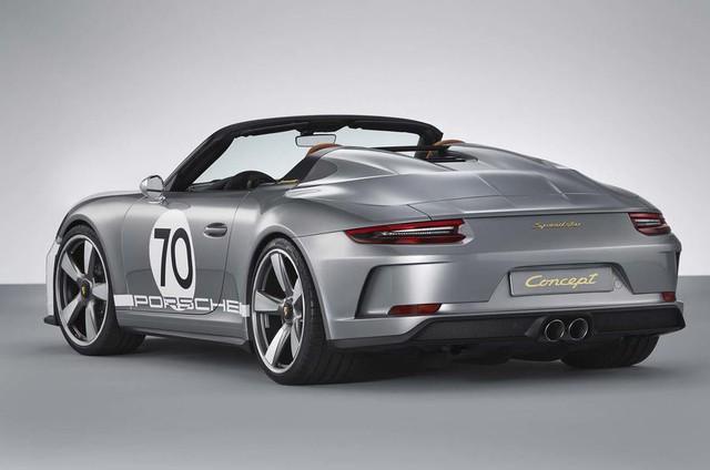 Ra mắt Porsche 911 Speedster - Hình ảnh xem trước của hậu duệ 991 - Ảnh 3.