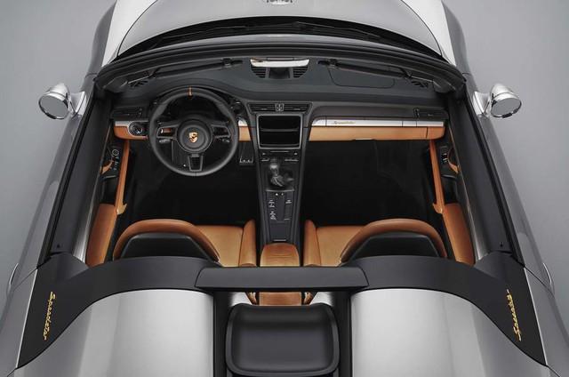 Ra mắt Porsche 911 Speedster - Hình ảnh xem trước của hậu duệ 991 - Ảnh 6.