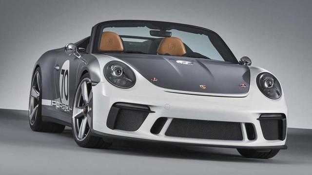 Ra mắt Porsche 911 Speedster - Hình ảnh xem trước của hậu duệ 991