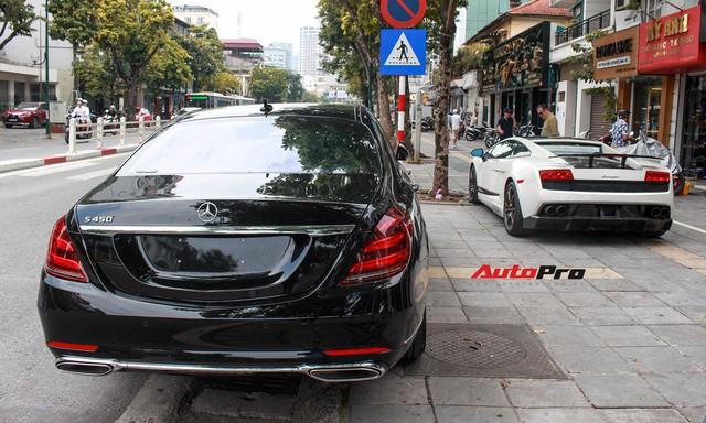 Vừa ra mắt, Mercedes-Benz S450 L 2018 đã lăn bánh trên đường, cặp cùng Lamborghini độc nhất Việt Nam - Ảnh 15.