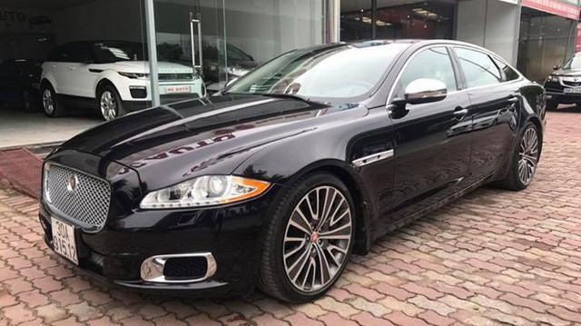 Xe ông chủ Jaguar XJ Ultimate 2013 lăn bánh 7.000km giá gần 4 tỷ đồng tại Hà Nội