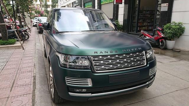 Range Rover SVAutobiography màu siêu độc về tay đại gia Hải Phòng