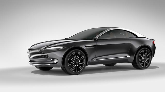 SUV đầu tiên của Aston Martin xuất hiện nhờ công người Trung Quốc