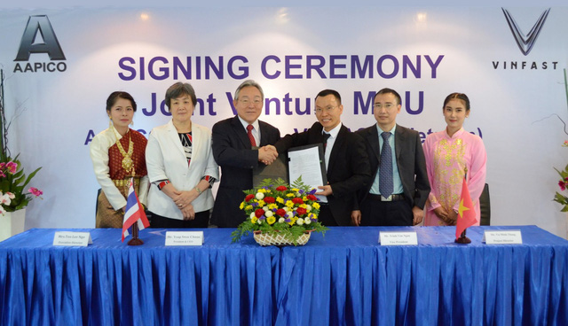 VINFAST đầu tư hơn trăm triệu USD, bắt tay đại gia Thái Lan làm thân vỏ ô tô đầu tiên - Ảnh 1.