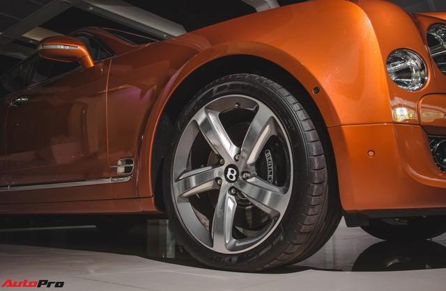 Chiêm ngưỡng Bentley Mulsanne Speed màu cam độc nhất vô nhị tại Việt Nam - Ảnh 6.