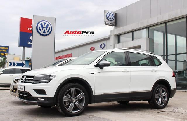 SUV 7 chỗ Volkswagen giá 1,7 tỷ đồng đã có mặt tại đại lý, sẵn sàng đấu Mercedes-Benz GLC - Ảnh 2.